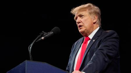 Donald Trump, trump on Kabul attack, Trump on Taliban, Joe Biden, Trump on US troops, Trump-Biden news, world news, Indian express