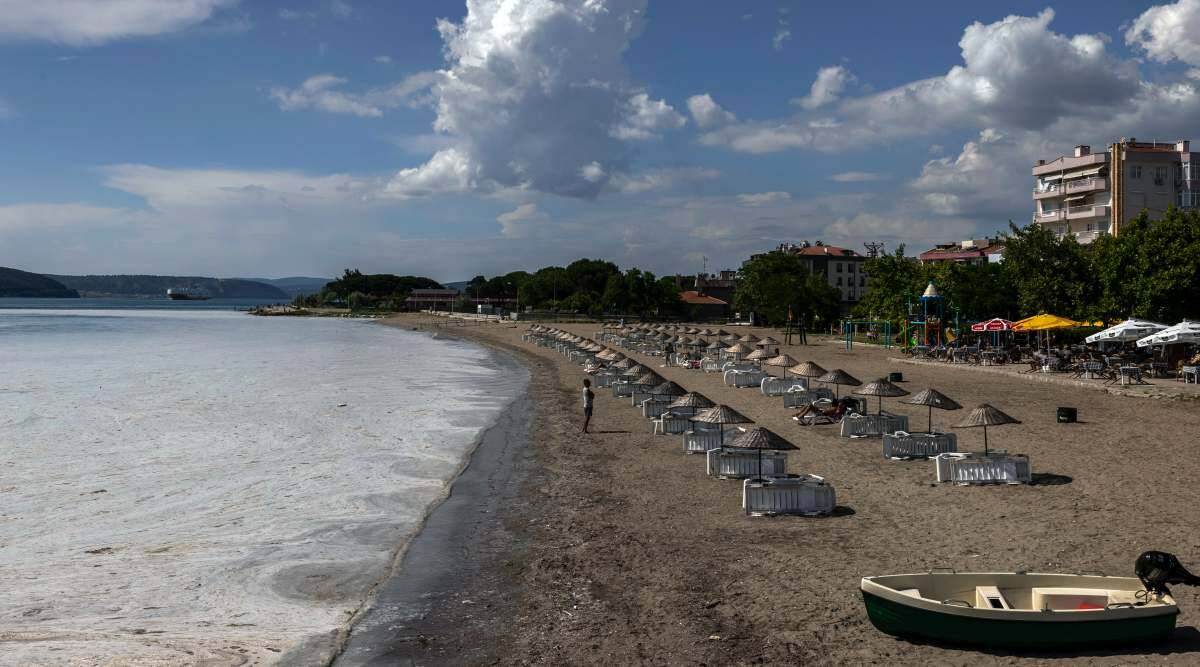 The Sea of Marmara, a 'sapphire' of Turkey, is choking from pollution