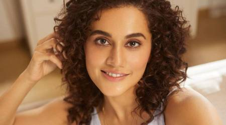 Sustainable fashion, Taapsee Pannu, Taapsee Pannu fashion, Taapsee Pannu Sustainable fashion stylist, indian express news