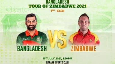 BAN vs ZIM, ZIM vs BAN, 1st ODI