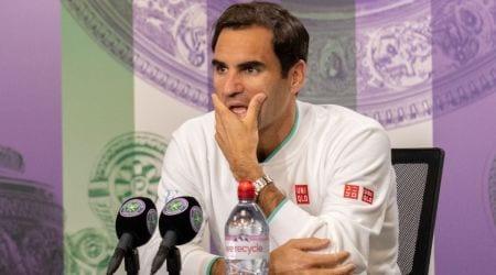 Roger Federer, Roger Federer knee injury, Roger Federer tokyo olympics, Roger Federer withdrawal olympics, Roger Federer wimbledon injury