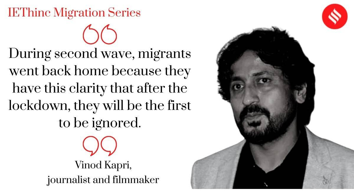 migrant crisis, india coronavirus lockdown, ie Thinc Migration, Tracking migration, covid second wave, indian express news