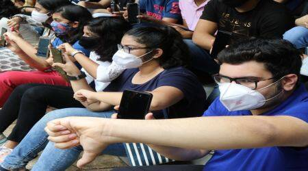 WBCHSE Clas 12 result, students protest