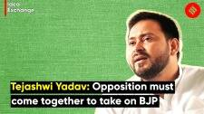 Tejashwi at Idea Exchange: Opposition must come together, otherwise history won't forgive them
