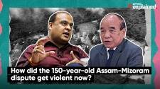 How did the 150-year-old Assam-Mizoram dispute get violent now?