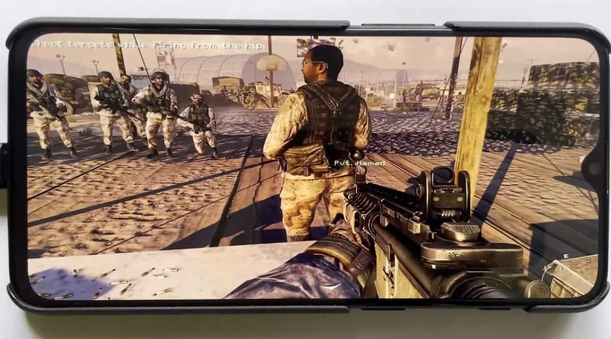Call of Duty: Modern Warfare 2, Modern Warfare 2 OnePlus 6T, OnePlus 6T Windows 11, OnePlus 6T Windows 10, PC games on phone,