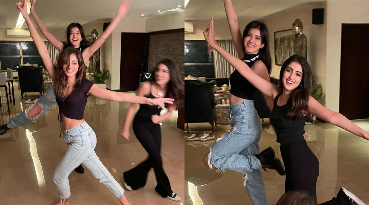 Shanaya Kapoor Spends 'Crazy' Time With Best Friends Ananya Panday, Navya Nanda, Father Sanjay Kapoor Worries About Her Sleep