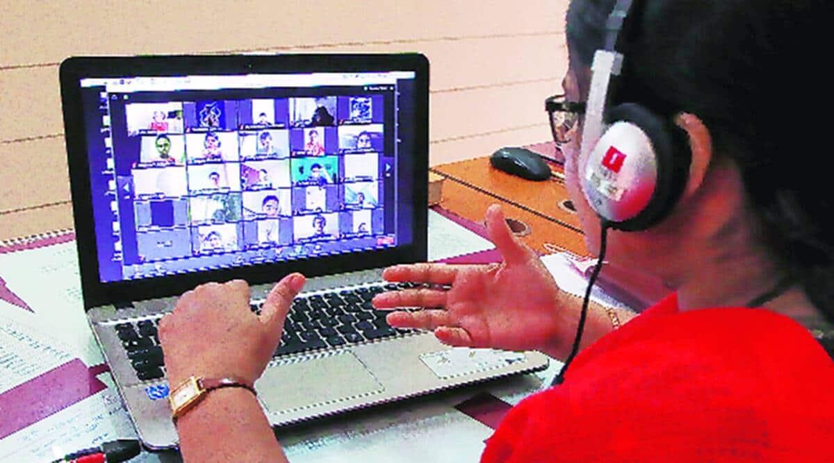Online classes schools madhya pradesh private schools