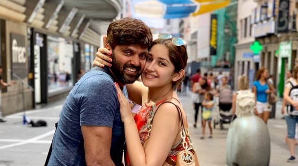 Arya-Sayyeshaa blessed with a baby girl, Vishal says 'great to be an uncle'  | Entertainment News,The Indian Express