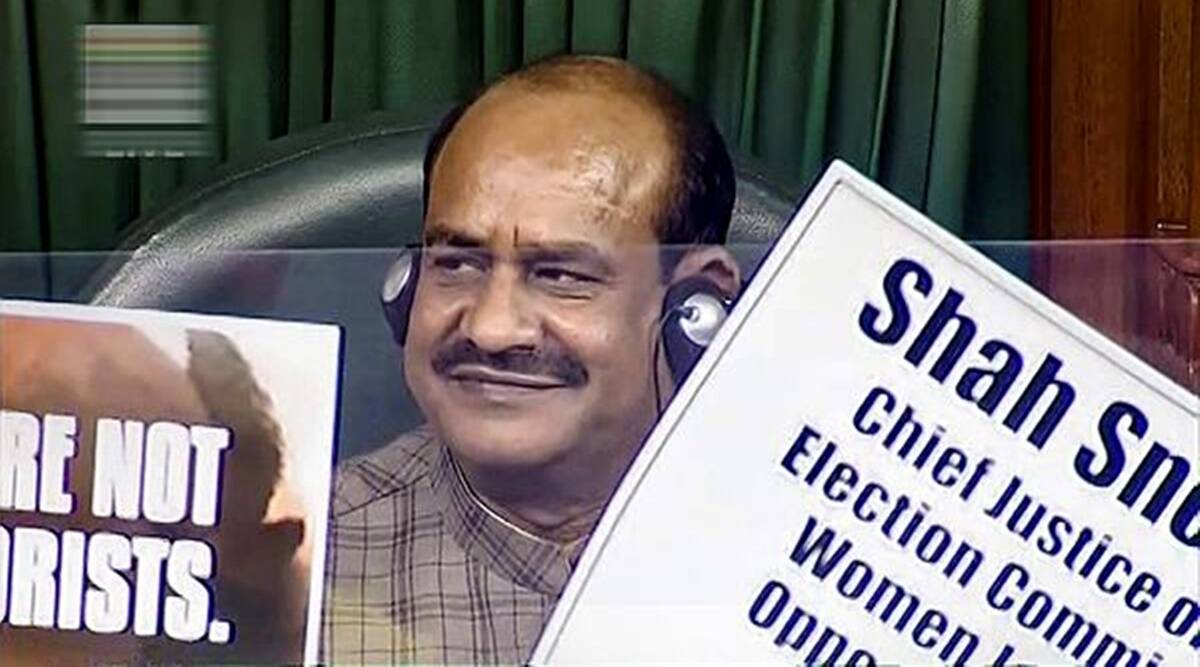 lok sabha porotests, opposition protest parliament