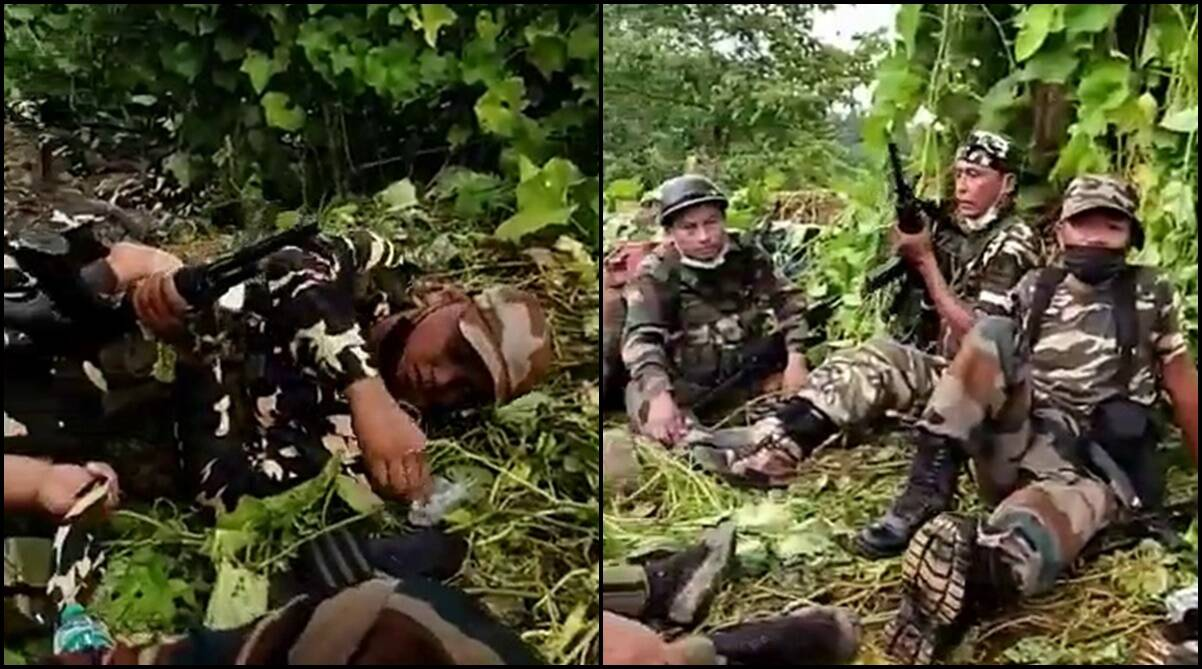 'Mizoram Police escalated issue': Assam CM Sarma tweets video amid increasing tensions at border - The Indian Express
