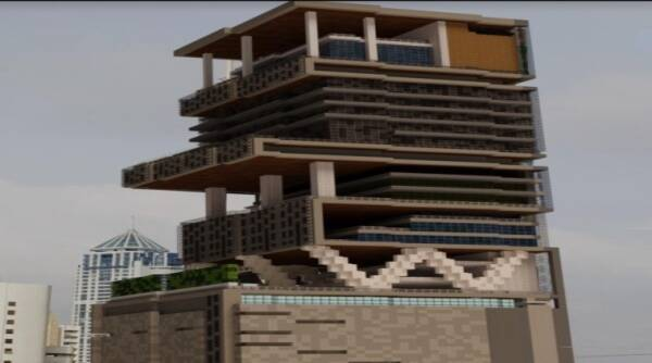 Taj Mahal Minecraft, build the earth, build the earth Taj Mahal, Minecraft building, Minecraft india, Taj Mahal Minecraft model, Minecraft, trending news and Indian Express news
