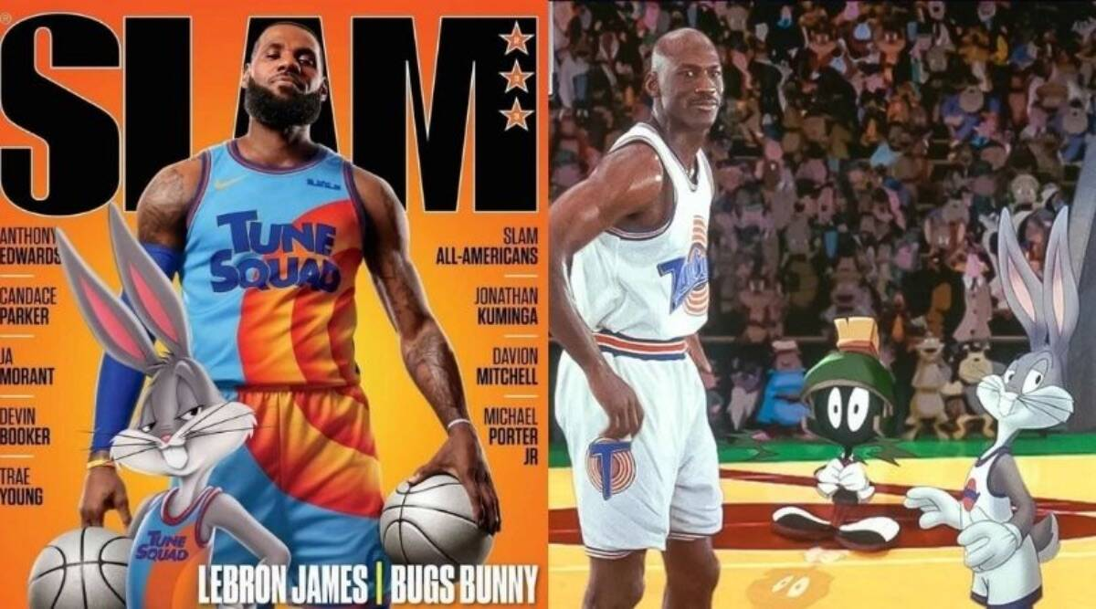 LeBron James talks about stepping into Michael Jordan's shoes for Space Jam sequel