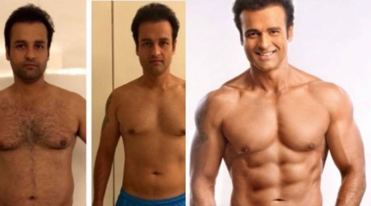 Rohit Roy shared photos of his transformation on his Instagram account (Photo: Instagram/ Rohit Bose Roy)