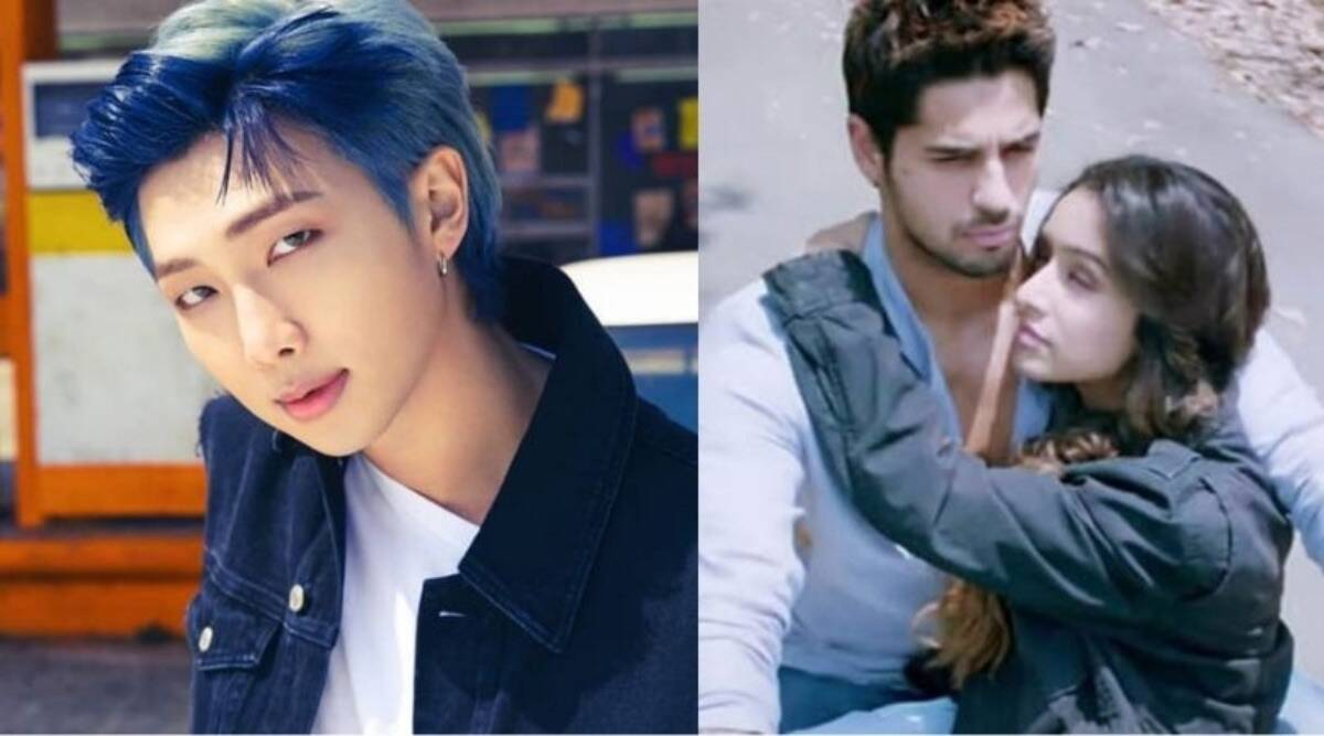 BTS's RM reacted to an Indian fan's post