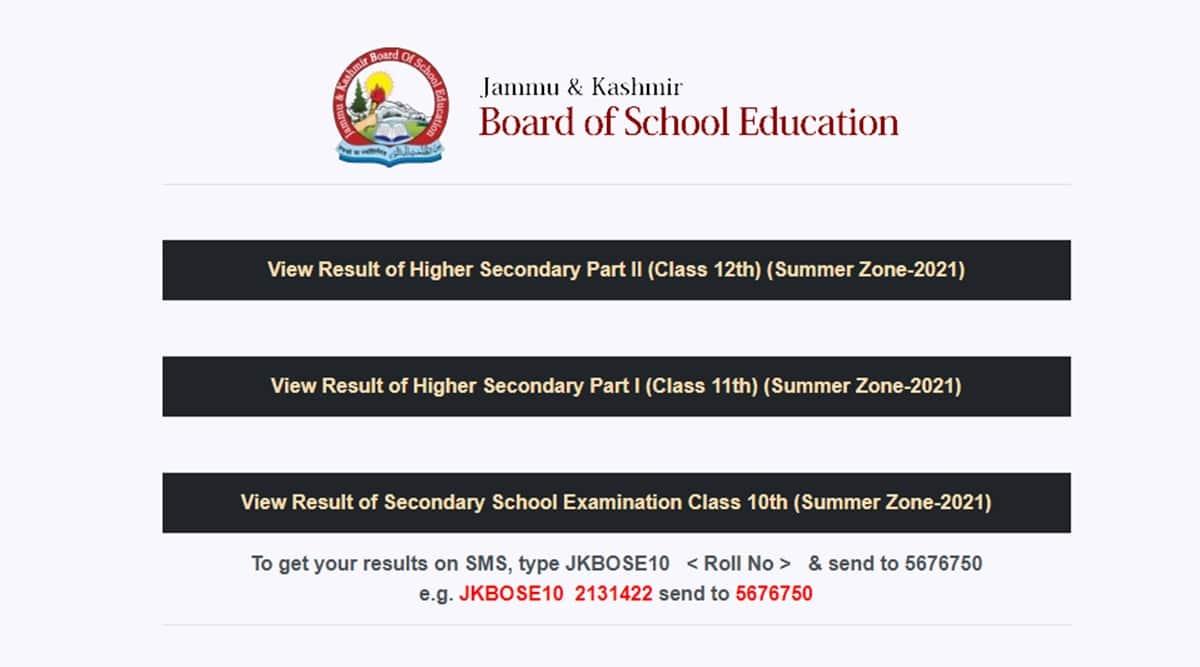 jkbose 12th class result 2021 jammu division regular