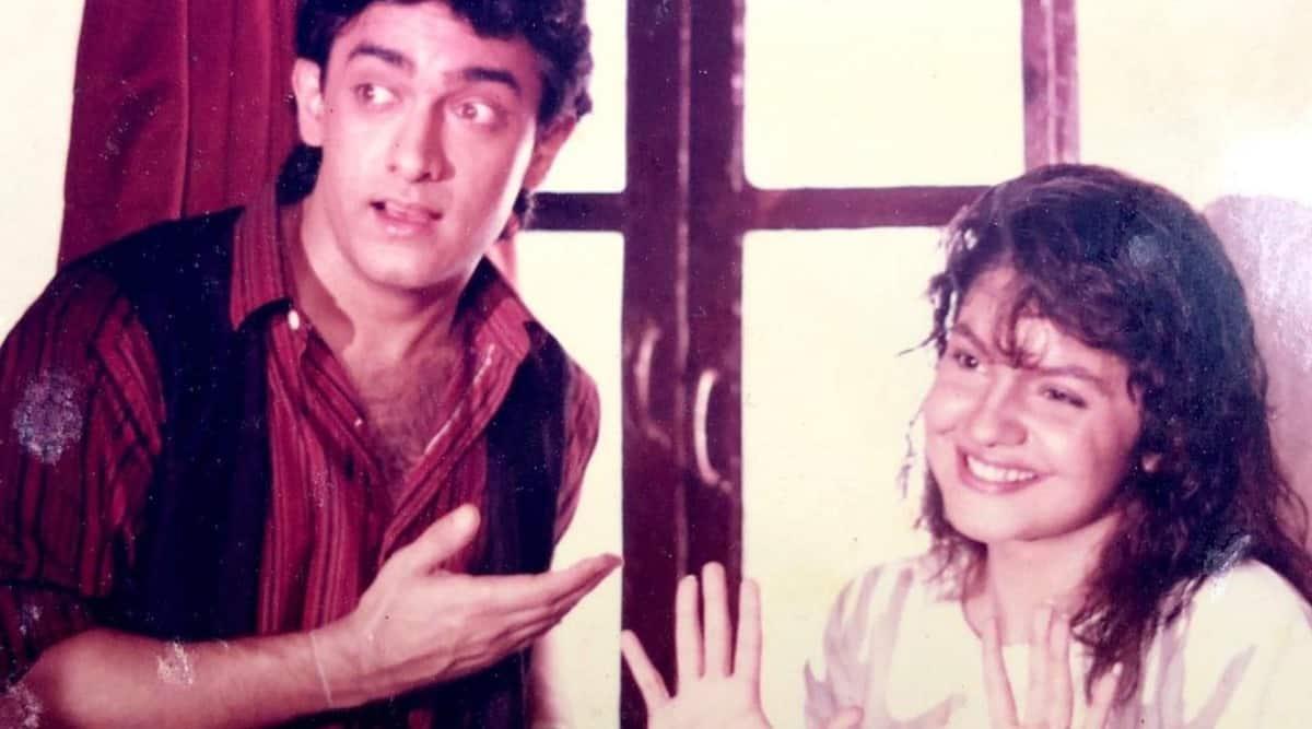 aamir khan and pooja bhatt in dil hai ke manta nahin