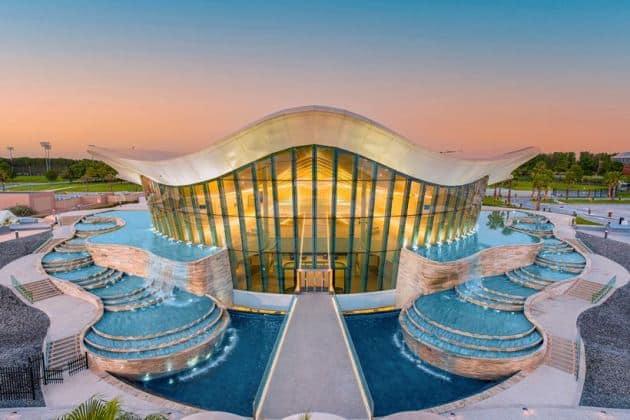 World's deepest swimming pool in Dubai