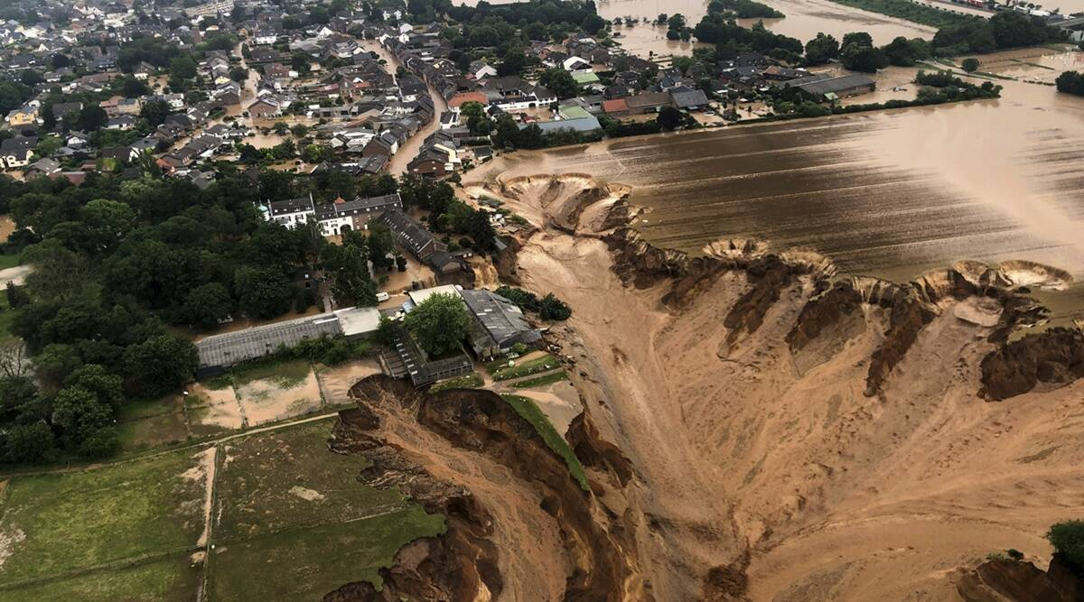 Europe floods: Death toll tops 150 as water recedes