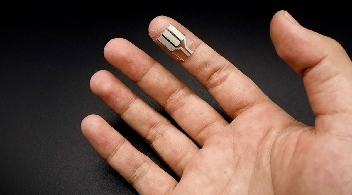 A new device could turn your sweat into electricity thumbnail