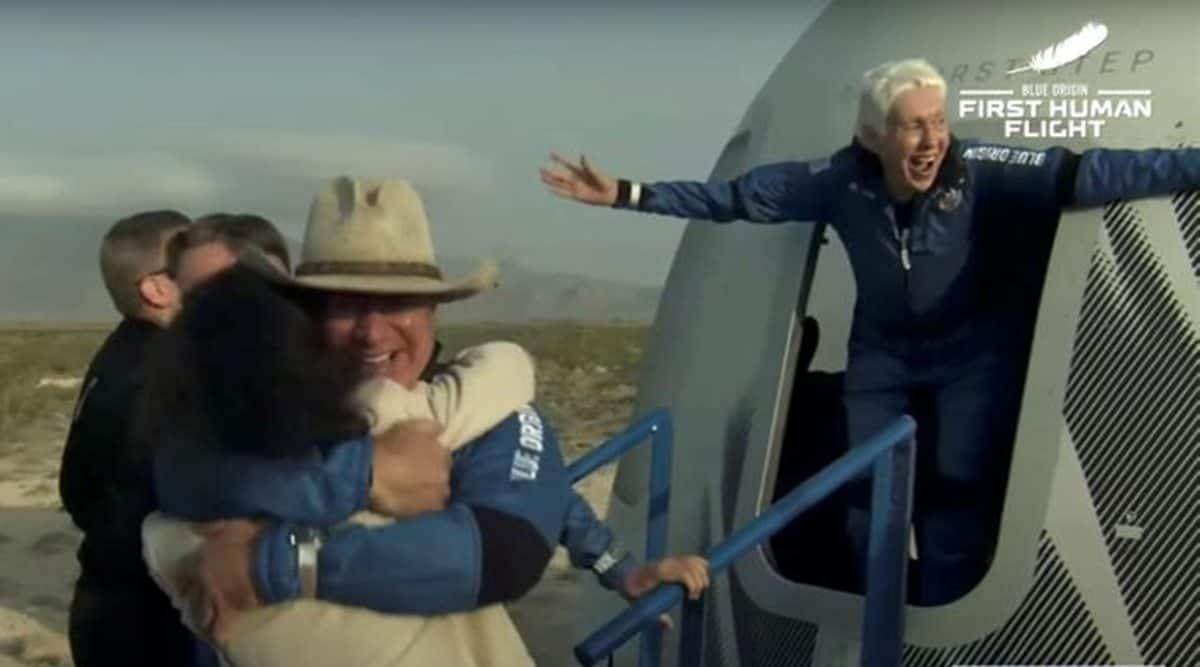 Jeff Bezos' Blue Origin launch Live Updates: New Shepard safely lands after historic flight thumbnail
