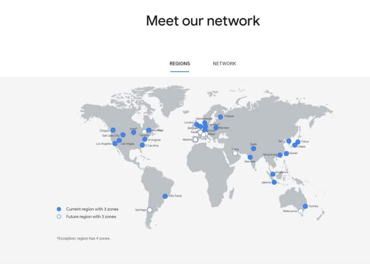 google, google delhi ncr cloud region, google cloud region, google delhi cloud region, google data center, thomas kurian