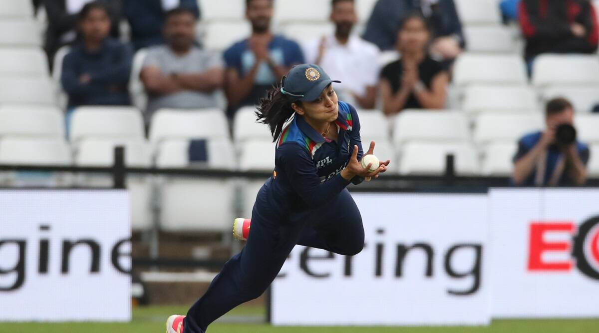 Harmanpreet credits coach Abhay Sharma after Harleen's stunning catch | Sports News,The Indian Express