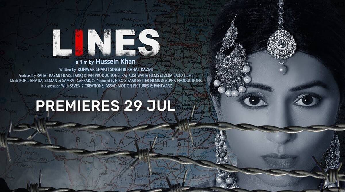 Hina Khan is a portrait of hope and resilience in cross-border drama Lines,  watch trailer | Entertainment News,The Indian Express
