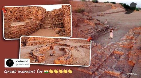 Dholavira, Dholavira unesco tag, Dholavira harappan city, indian indus valley civilisation sites, unesco, unesco heritage list, india unesco heritage sites, trending news, viral news, indian express