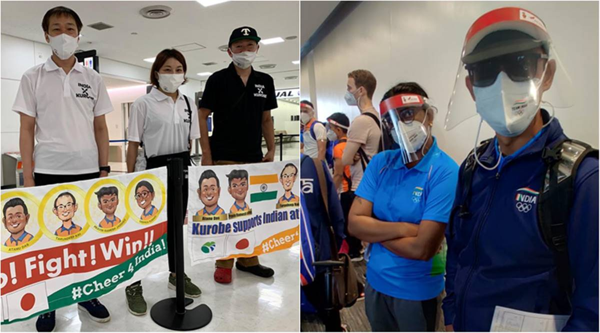 indian contingent tokyo olympics, india archery team tokyo olympics, india swimming team tokyo olympics, india table tennis team tokyo olympics