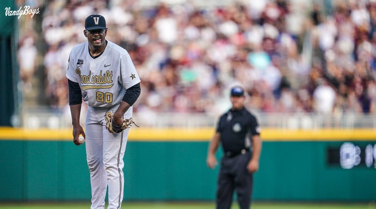 Kumar Rocker becomes one of the first pro baseball players of Indian origin