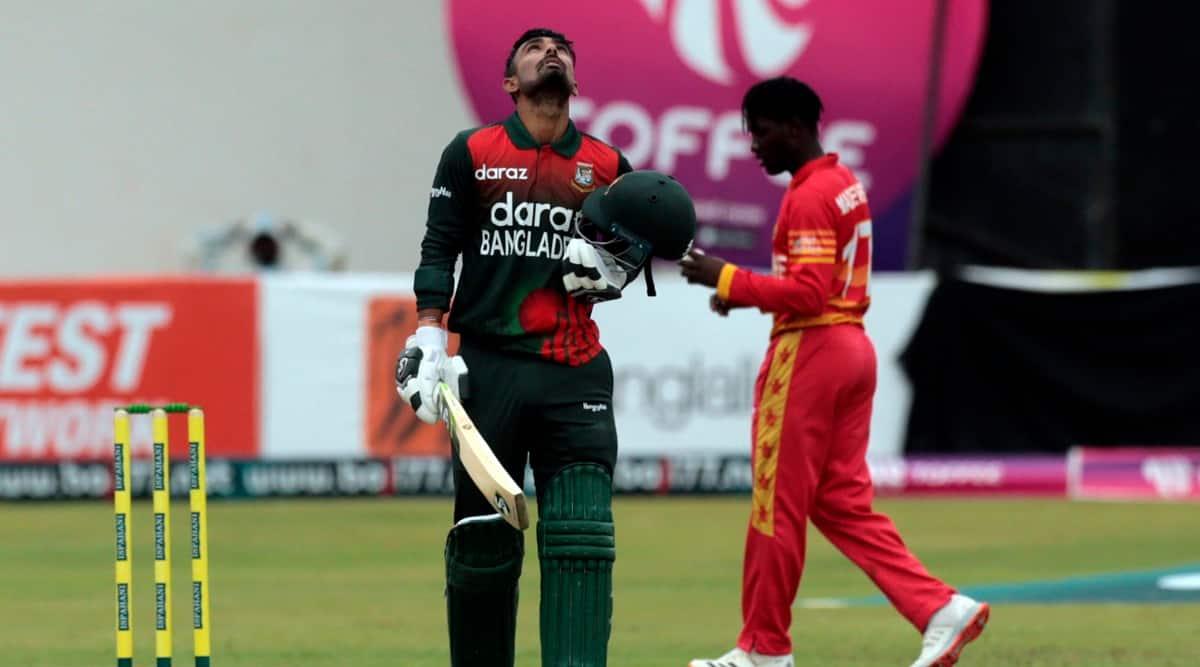 Liton Das ton helps Bangladesh to convincing 155-run victory over Zimbabwe