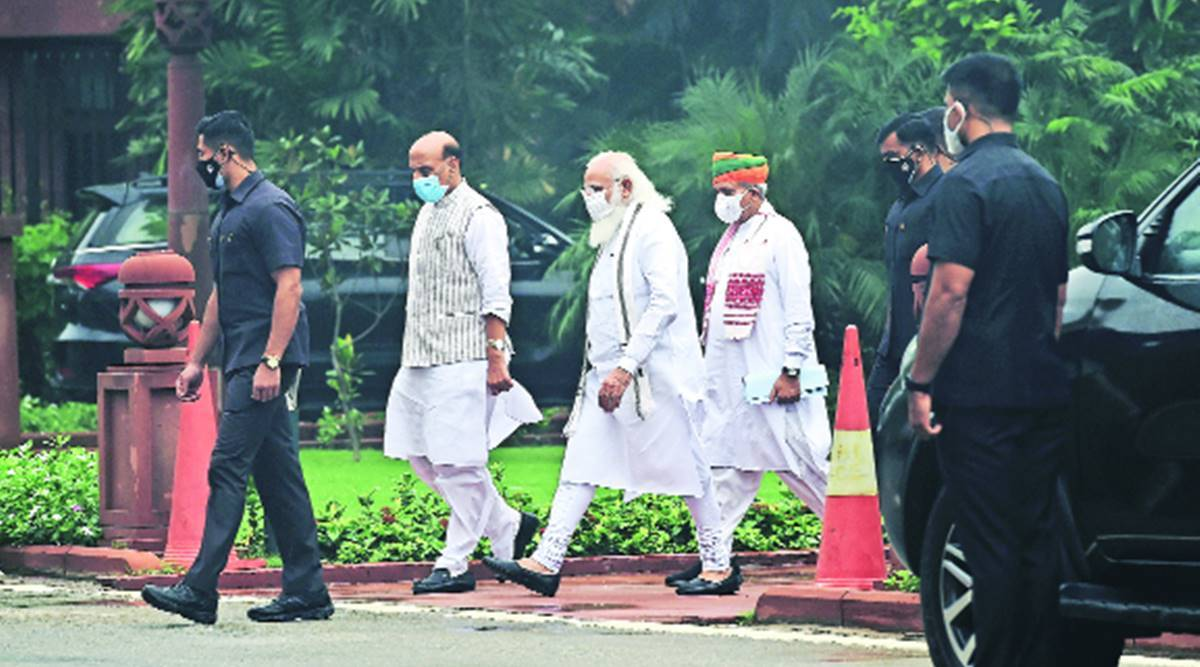 PM tells BJP MPs to counter Opposition charges