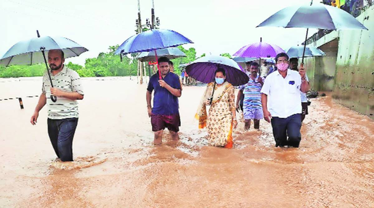 Taliye in Mahad taluka, where a huge landslide occurred on Thursday evening, is a village of 240 people, located 22 km from Mahad city. Around 35 houses were buried under the debris of a hillock that came crashing down on the houses.