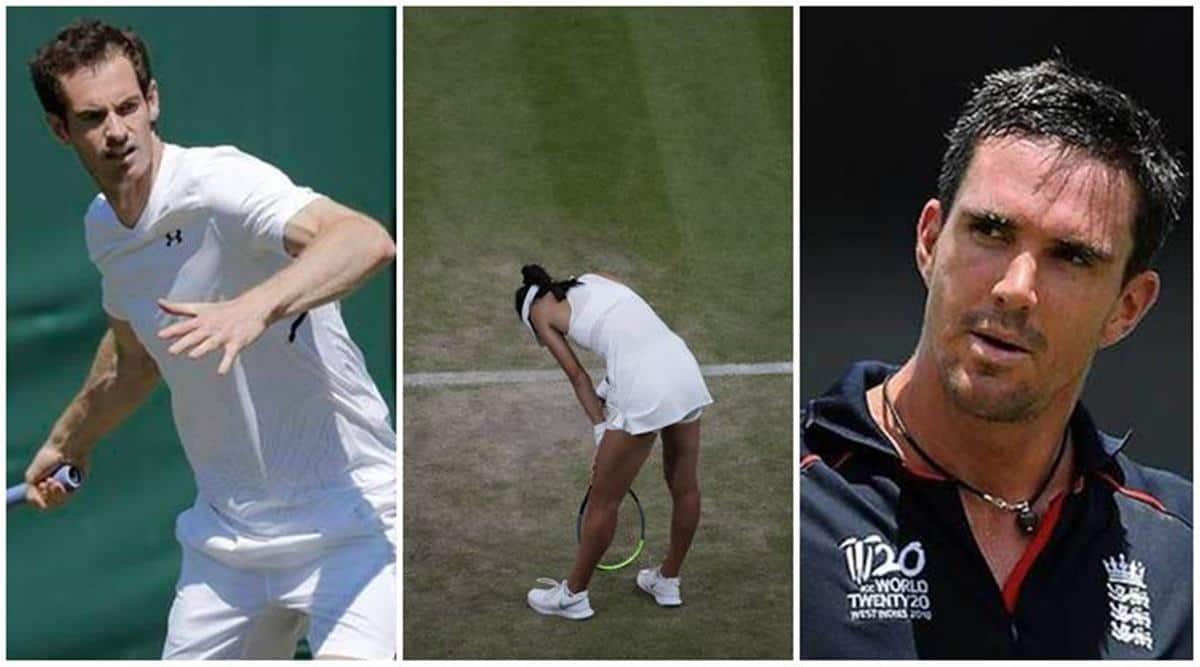 Andy Murray, Kevin Pietersen, Piers Morgan, Emma Raducanu