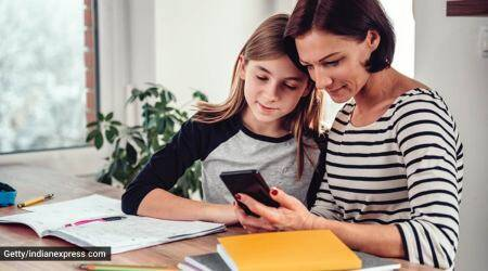 National Parent's Day, the role of parents in virtual learning for kids, how can parents think like teachers, the role of teachers and parents in a child's learning process, virtual learning, online classes, the role of parents during online learning, parenting, indian express news