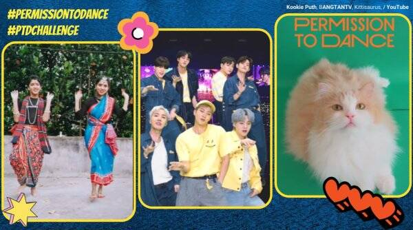 BTS, Permission to dance, bts ptd dance challenge, permission to dance challenge, youtube shorts dance challenge, permission to dance bts videos, indian express