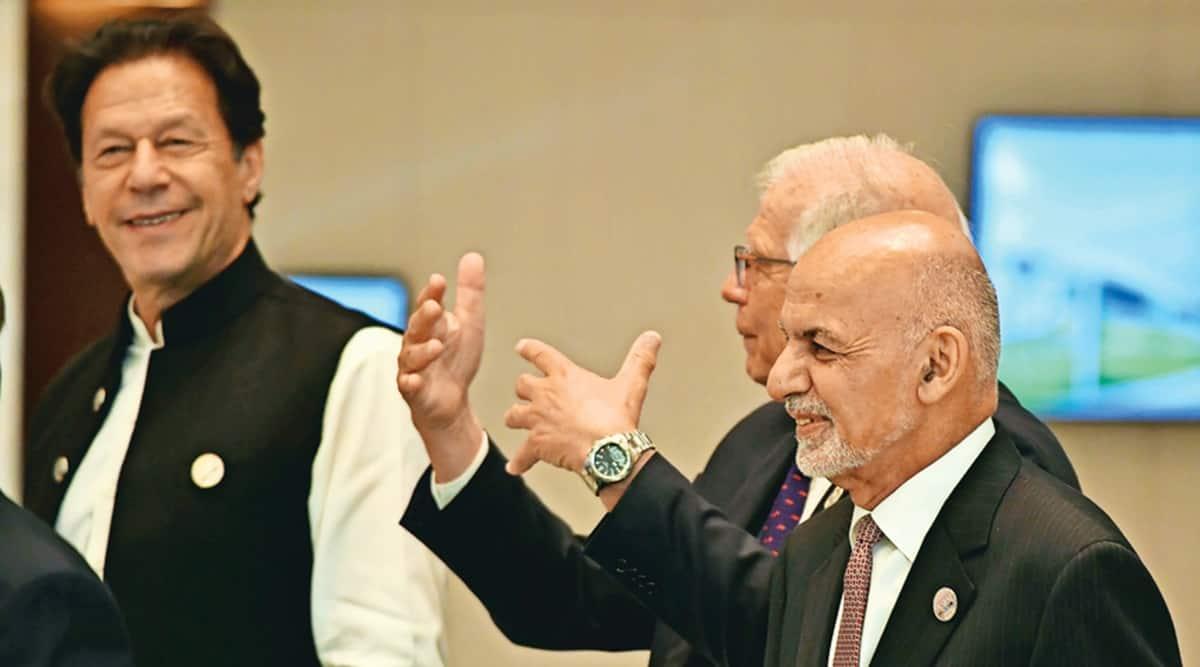 Ashraf Ghani slams Pakistan for Afghan crisis; not fair, retorts Imran Khan