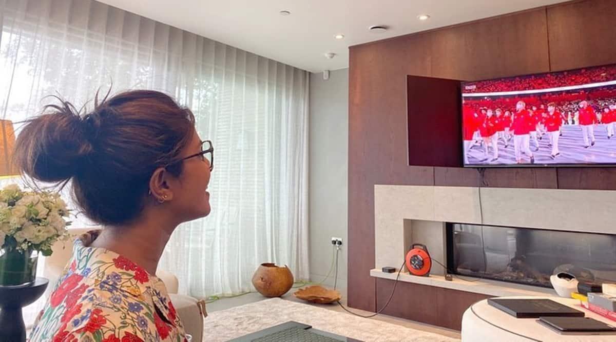 tokyo olympics 2020 opening ceremony priyanka chopra