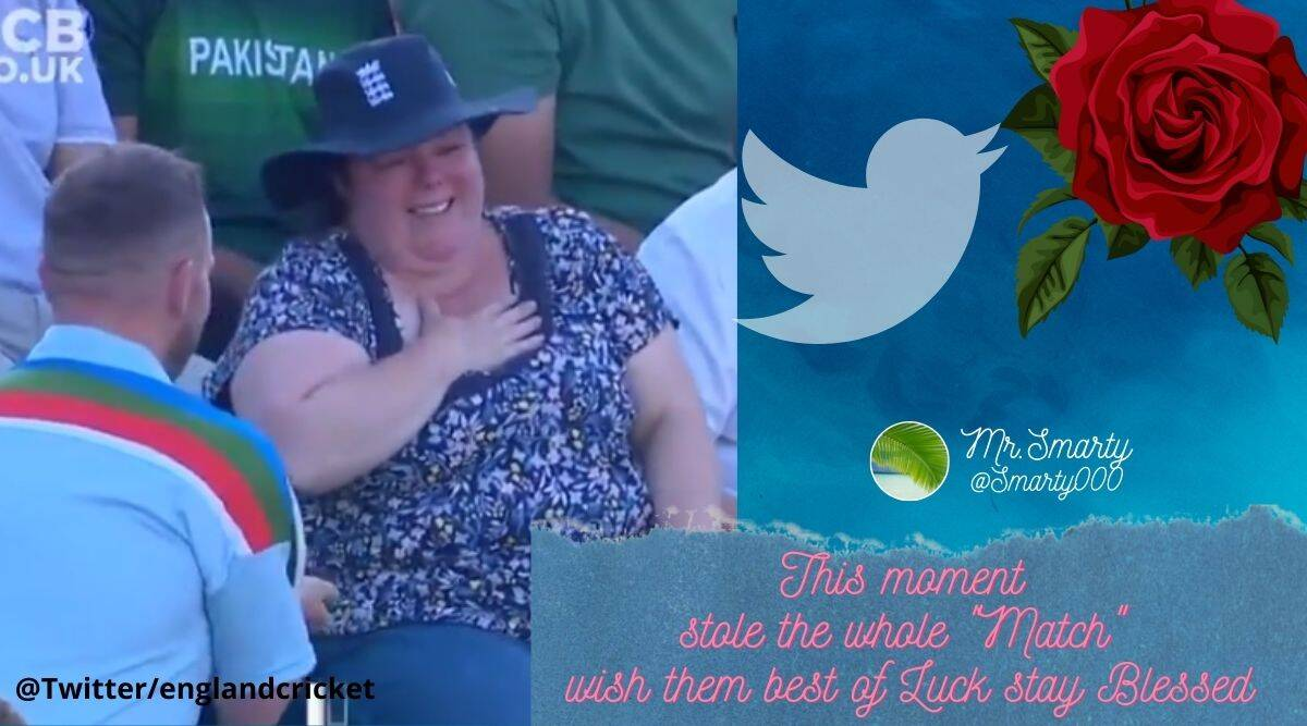 Many who came across the video, which was shared on England cricket, the official Twitter account of all England cricket teams took to the comment section, congratulating the couple.