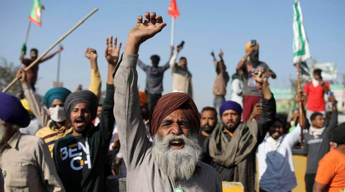 Farmers protest jantar mantar live updates