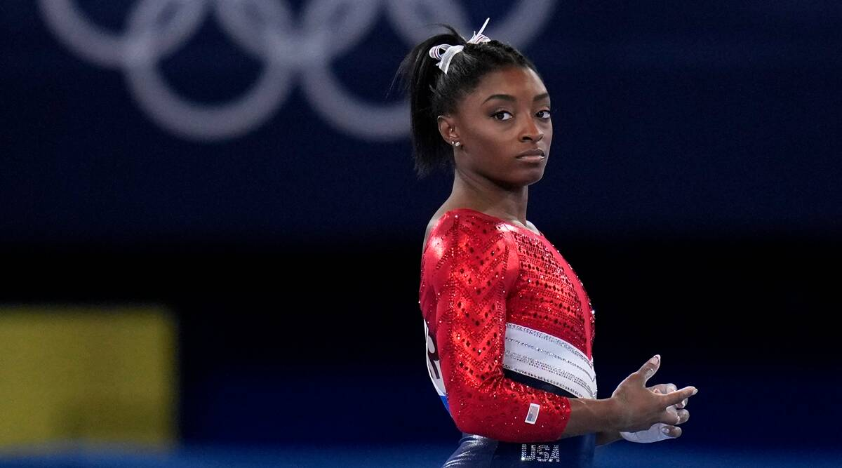 Tokyo 2020: Simone Biles withdraws from all-around gymnastics competition    Olympics News,The Indian Express