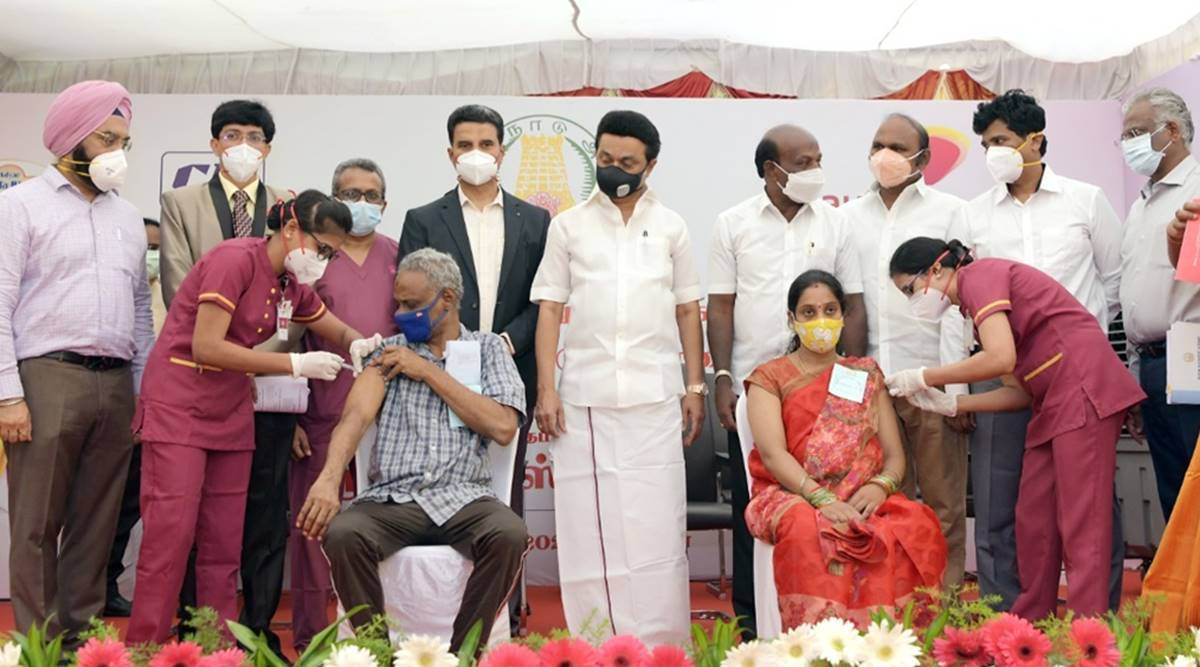 Scheme to get free Covid vaccines at private hospitals of Tamil Nadu launched
