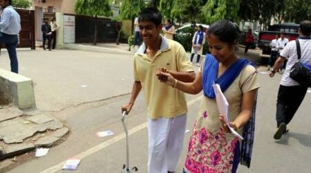 Odisha class 10 exams differently abled students offline exams