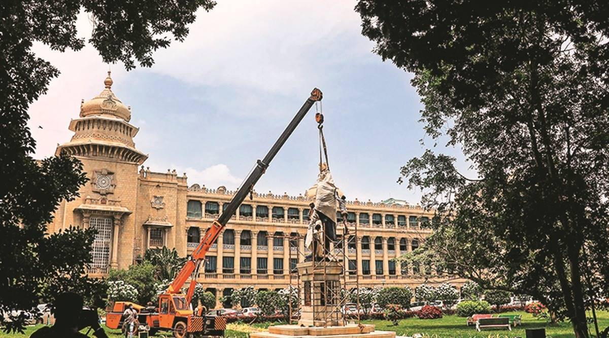 'Took all possible safety measures… if the crane missed the balance, the statue would have been damaged'