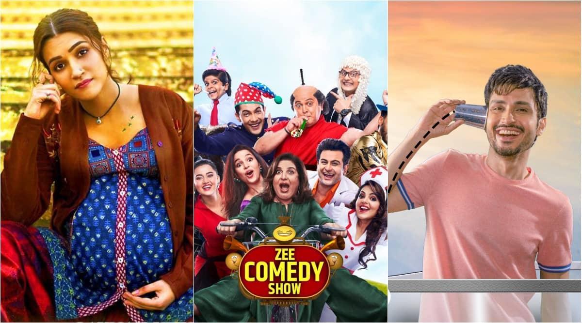 mimi, zee comedy show, balcony buddies