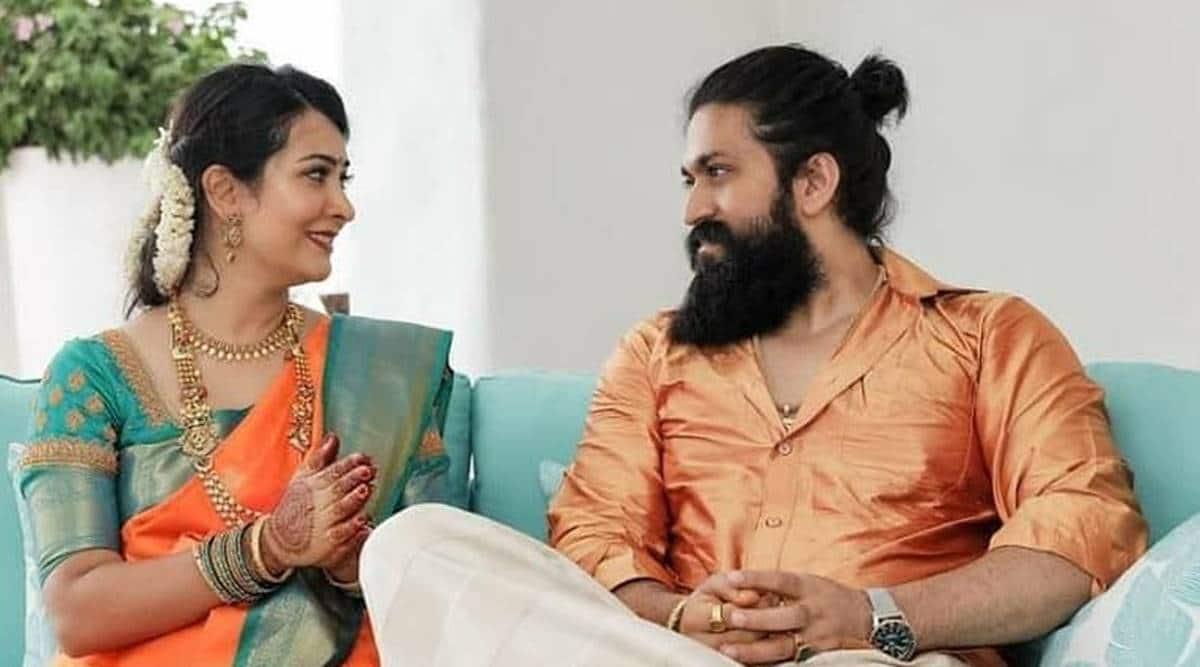 Yash and Radhika Pandit