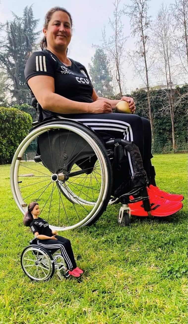 Francisca Mardones, Francisca Mardones Tokyo Paralympics, Francisca Mardones Barbie