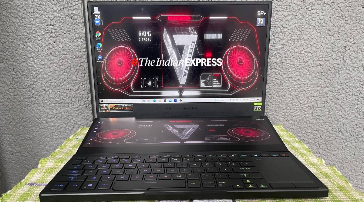Asus ROG Zephyrus Duo 15 SE, Asus ROG Zephyrus Duo 15 SE review, Asus ROG Zephyrus Duo 15 SE price in india, ROG Zephyrus Duo 15 SE, asus rog gaming laptops in india, best gaming laptops in india