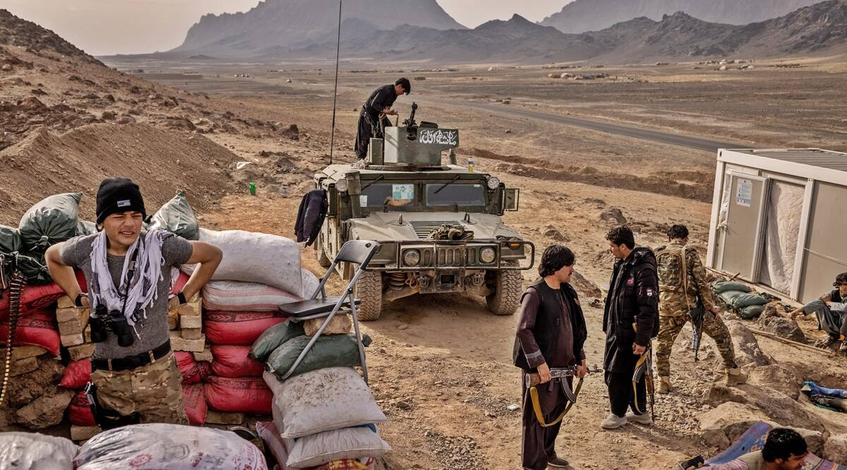 Taliban seize government buildings in Afghan cities Kunduz, Sar-e Pul   World News,The Indian Express